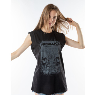 tílko pánské METALLICA - THE BLACK ALBUM - BLACK - AMPLIFIED, AMPLIFIED, Metallica