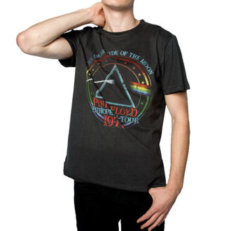 tričko pánské PINK FLOYD - 1972 TOUR - CHARCOAL - AMPLIFIED, AMPLIFIED, Pink Floyd