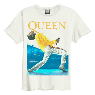 tričko pánské QUEEN - TRIANGLE - VINTAGE WHITE - AMPLIFIED - ZAV210C41