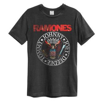 tričko pánské Ramones - Vintage Sael - AMPLIFIED, AMPLIFIED, Ramones