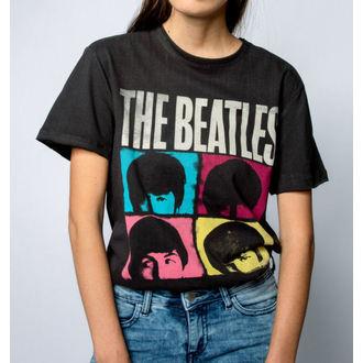 tričko pánské THE BEATLES - HARD DAYS NIGHT - CHARCOAL - AMPLIFIED, AMPLIFIED, Beatles