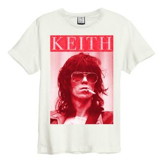 tričko pánské ROLLING STONES - KOOL KEEF - VINTAGE WHITE - AMPLIFIED, AMPLIFIED, Rolling Stones