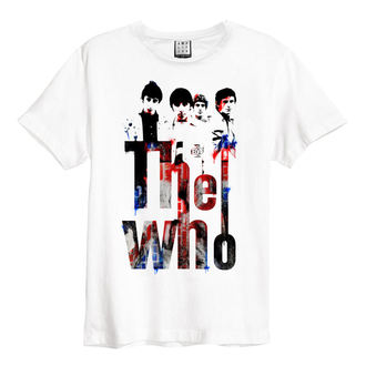tričko pánské THE WHO - WHT - AMPLIFIED, AMPLIFIED, Who