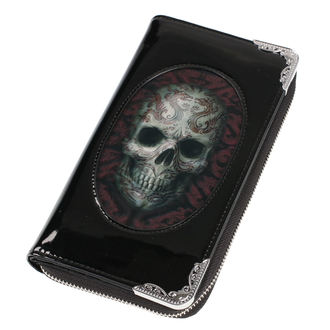 peněženka ANNE STOKES - Oriental Skull - Black, ANNE STOKES