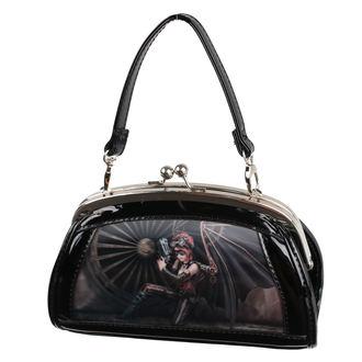 kabelka (taška) ANNE STOKES - Assassin - Black, ANNE STOKES