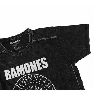 tričko pánské Ramones - Presidential Seal Snow Wash - ROCK OFF, ROCK OFF, Ramones