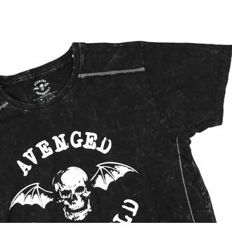 tričko pánské Avenged Sevenfold - Logo - Snow Wash - ROCK OFF, ROCK OFF, Avenged Sevenfold