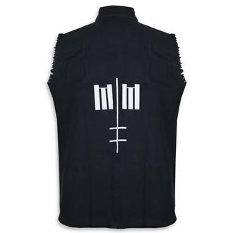 košile pánská bez rukávů (vesta) Marilyn Manson - Cross Logo - RAZAMATAZ, RAZAMATAZ, Marilyn Manson