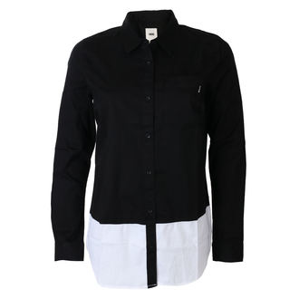 košile dámská VANS - SKATE STACK - Black, VANS