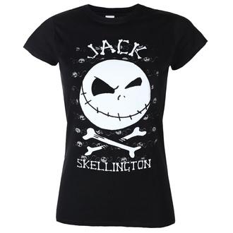 tričko dámské THE NIGHTMARE BEFORE CHRISTMAS - JACK FACE - PLASTIC HEAD - BILNBC00054G