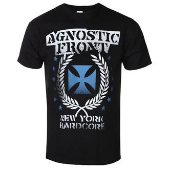 tričko pánské AGNOSTIC FRONT - BLUE IRON CROSS - PLASTIC HEAD, PLASTIC HEAD, Agnostic Front
