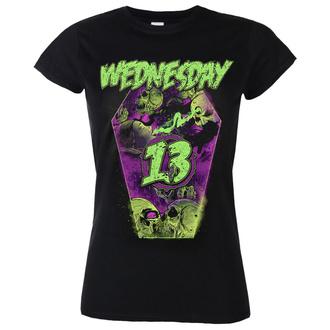 tričko dámské WEDNESDAY 13 - Coffin - NUCLEAR BLAST, NUCLEAR BLAST, Wednesday 13