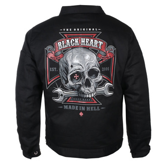 bunda pánská BLACK HEART - REPAIRMAN - BLACK - 006-0017-BLK