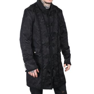 kabát pánský Aderlass - Classic Coat Brocade Black - A-7-03-040-00