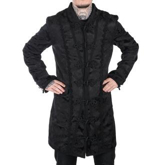 kabát pánský Aderlass - Classic Coat Brocade Black, ADERLASS