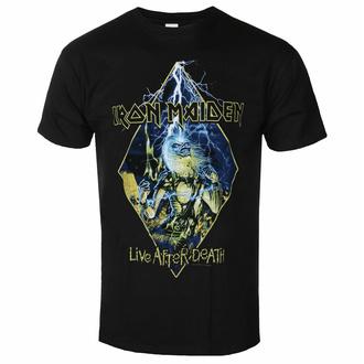 tričko pánské Iron Maiden - Live After Death Diamond BL - ROCK OFF, ROCK OFF, Iron Maiden