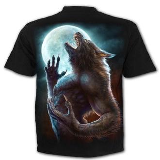 tričko pánské SPIRAL - WILD MOON - Black, SPIRAL