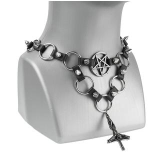 obojek Crossi, Leather & Steel Fashion