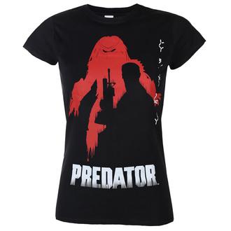 tričko dámské Predator - Poster - Black - HYBRIS, HYBRIS, Predator
