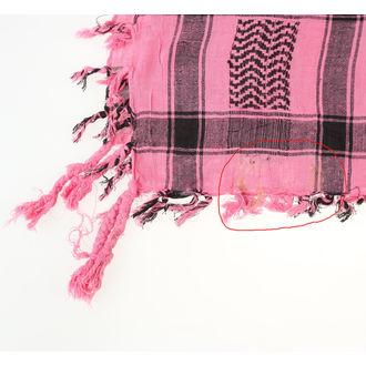 šátek ARAFAT - palestina - lebka 29 - růžová - POŠKOZENÝ