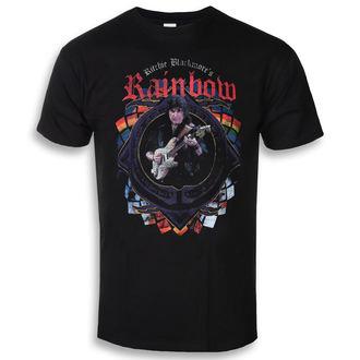 tričko pánské RAINBOW - RITCHIE TOUR DATES 2018 - PLASTIC HEAD, PLASTIC HEAD, Rainbow