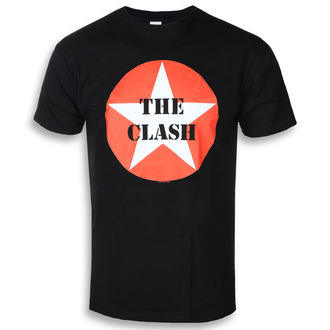 tričko pánské CLASH - STAR BADGE - PLASTIC HEAD, PLASTIC HEAD, Clash