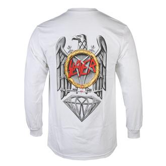 tričko pánské s dlouhým rukávem SLAYER - DIAMOND - Brilliant Abyss - White, DIAMOND, Slayer