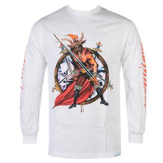 tričko pánské s dlouhým rukávem SLAYER - DIAMOND - No Mercy - White, DIAMOND, Slayer
