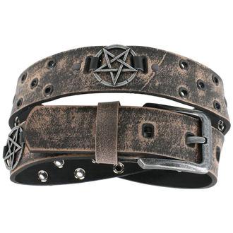 pásek Pentagram - brown - LSF2 29