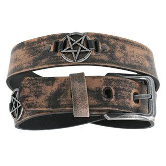 pásek Pentagram - brown