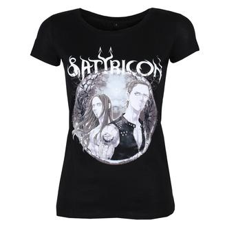 tričko dámské SATYRICON - Manga - BLACK, NNM, Satyricon
