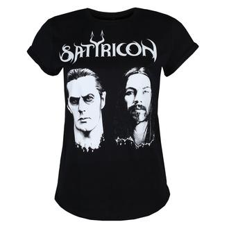 tričko dámské SATYRICON - Two faces - BLACK, NNM, Satyricon