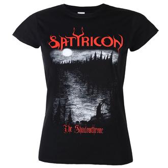 tričko dámské SATYRICON - Shadowthrone - BLACK, NNM, Satyricon