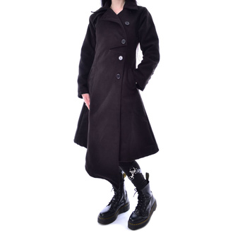 kabát dámský POIZEN INDUSTRIES - AUSTRA - BLACK, POIZEN INDUSTRIES