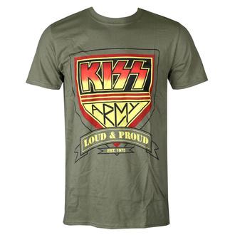 tričko pánské Kiss - Loud & Proud - ROCK OFF - KISSTS07MMG