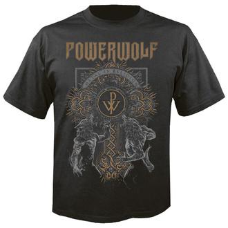tričko pánské POWERWOLF - Wolf cross - NUCLEAR BLAST, NUCLEAR BLAST, Powerwolf