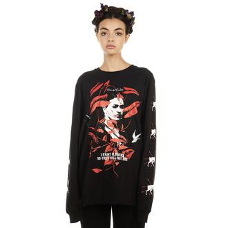tričko s dlouhým rukávem unisex DISTURBIA - Frida Flowers - AW19FKT3