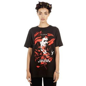 tričko unisex DISTURBIA - Frida Flowers, DISTURBIA