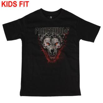 tričko dětské Powerwolf - (Icon Wolf) - black - Metal-Kids - 574-25-8-999