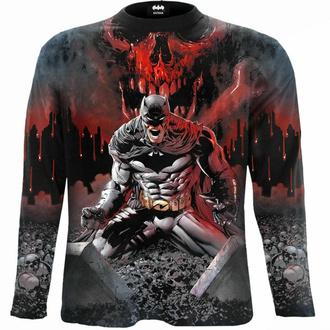 tričko pánské s dlouhým rukávem SPIRAL - Batman - ASYLUM WRAP - Black, SPIRAL