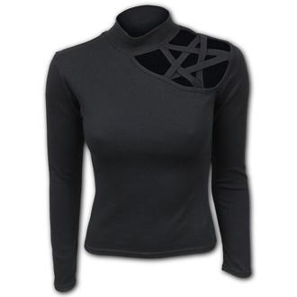 tričko dámské s dlouhým rukávem SPIRAL - GOTHIC ELEGANCE - Pentagram Shoulder, SPIRAL