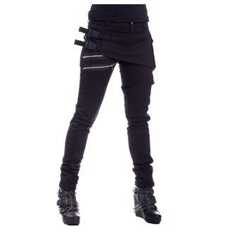 kalhoty dámské Chemical Black - AYRA - BLACK