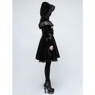 kabát dámský PUNK RAVE - Mishka - LY-065 BK