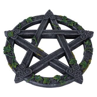 dekorace Wiccan Pentagram Wall Plaque, NNM