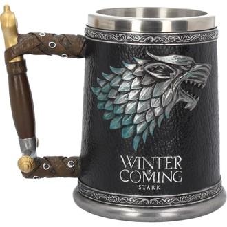 hrnek (korbel) Hra o trůny - Winter is Coming, NNM