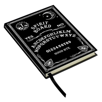 poznámkový blok Embossed Journal Black and White Spirit Board, NNM