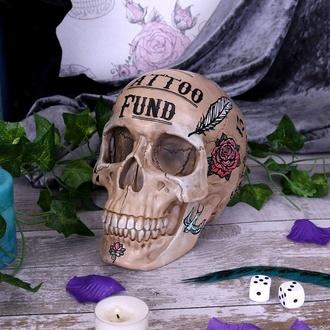 dekorace (pokladnička) Tattoo Fund - Bone, NNM
