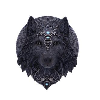 dekorace nástěnná Wolf - Moon, NNM