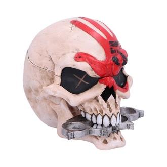 dekorace (krabička) Five Finger Death Punch - Skull, NNM, Five Finger Death Punch