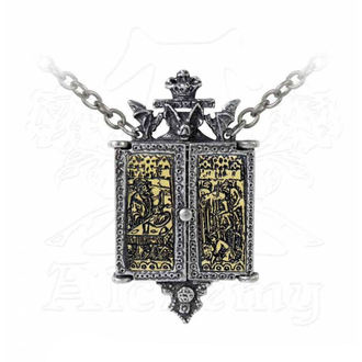 obojek ALCHEMY GOTHIC - Balkan Triptych Icon Locket